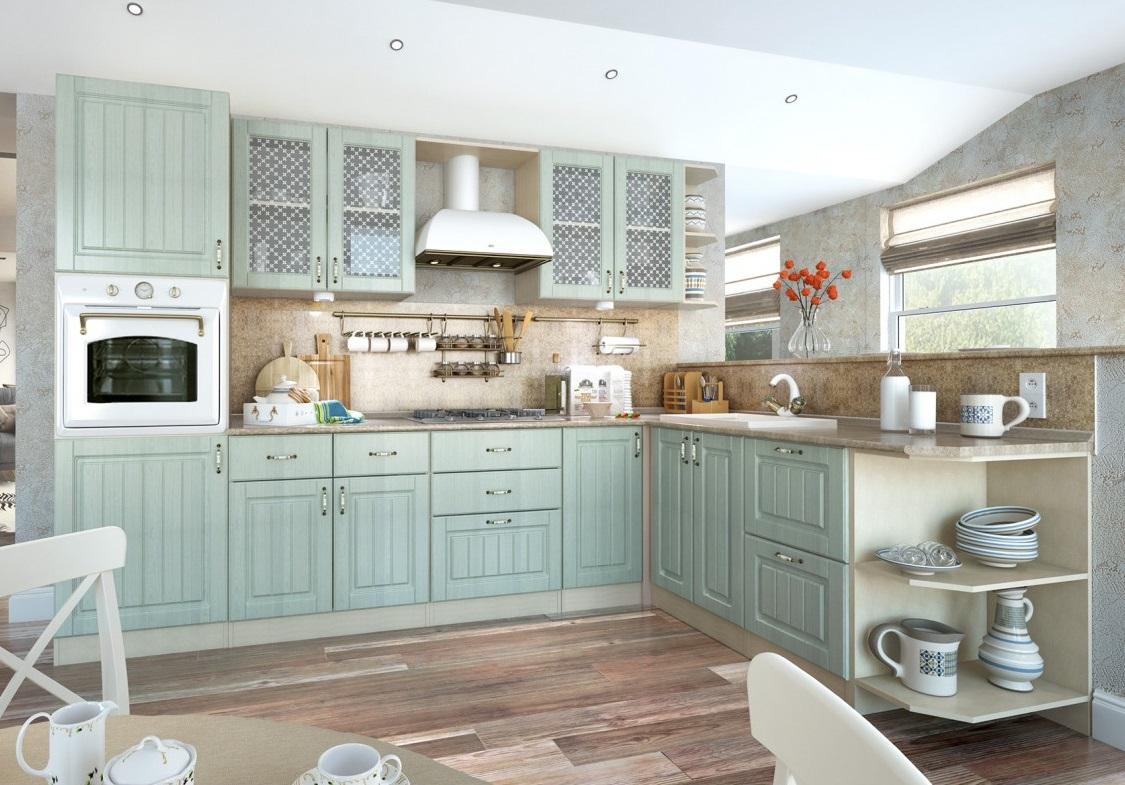 кухни фото в стиле прованс и кантри