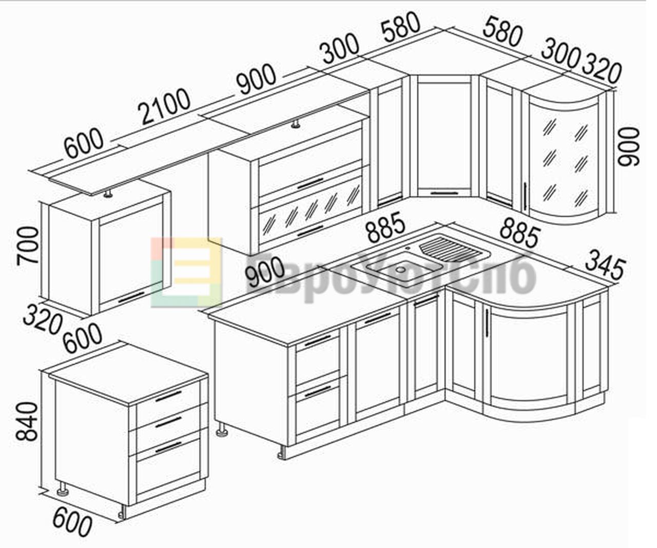 Кухонная мебель своими руками чертежи